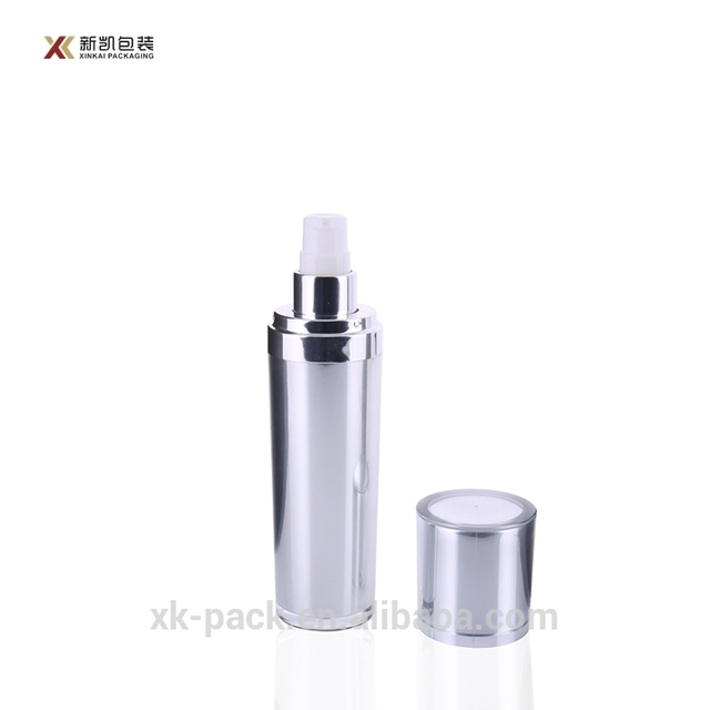 2018 Various china factory frosted body square acrylic lotion bottle