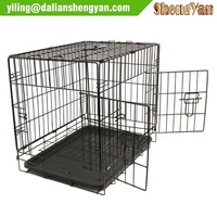 Dogs Application and Pet Cages Carriers Houses Type Dog Cage