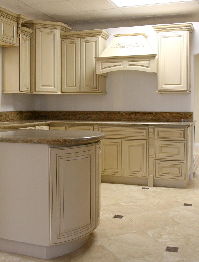 Kitchen Cabinets Antique White Glaze View Cabinet Product Details From Everlast Bath Llc On Alibaba