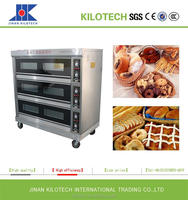 Bakery, Supermarket Used Commercial Gas Oven, Electric Oven for bake bread, biscuit