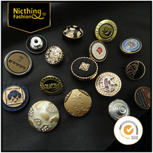 Factory Supply wholesale copper shank jeans button(Come to my shop see other Jean button design)