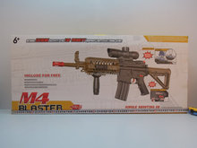 hot selling electric ultra-long range shooting crystal gun, water bullet gun, M4 blaster, gun