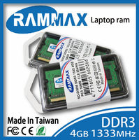 Promotional PC Part DDR3 1333 4GB So dimm ram memory stick for all chipset on all types of DELL Laptop