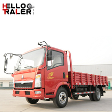 China light trucks tires 4x2 howo light cargo truck for sale