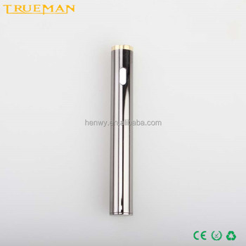 High quality preheat 510 cbd oil electronic cigarette vv battery 180mah oem available