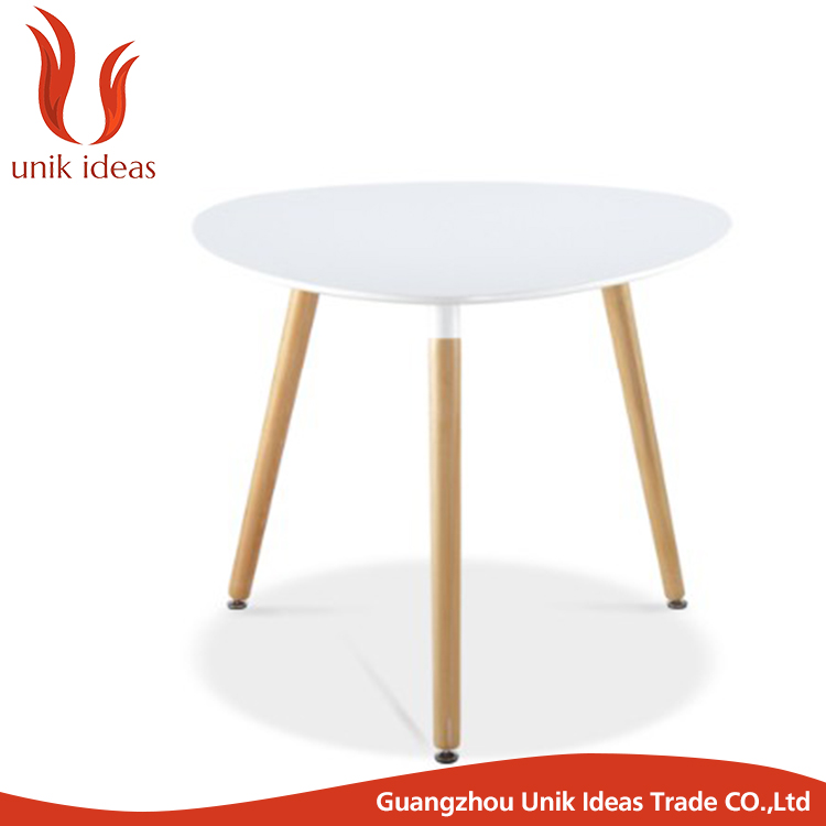 round coffee table /mini bar table oak / small round leisure table