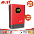 MUST Wholesale price 4000w dc to ac pure sine wave solar power inverter 5kVA