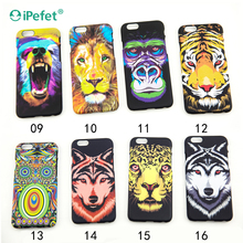 prestigio glow plastic mobile phone back case cover for samsung for iphone
