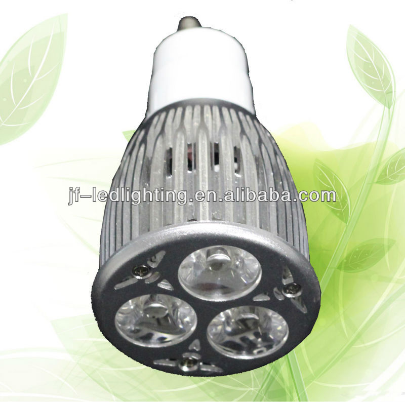Gu10 gu5.3 led spotlight dimmable 3x3W