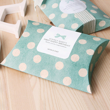 High Quality Pretty Custom Printable Kraft Paper Pillow Boxes/Candy Box/Gift Box