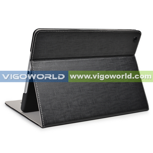 PU leather Hard case cover for iPad air with stand auto sleep