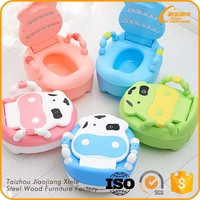Beautiful design cow shape portable baby potty,baby toilet