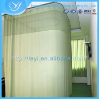 LY-8 100% Polyester Clear Color Medical Mesh Fabric Curtain Free Samples Available