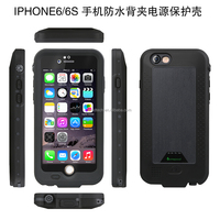 For iPhone 6 Power Bank waterproof Battery Charger Case 2750mAh
