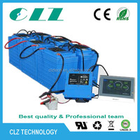 3.2V 12V 24V 36V 48V 60V 72V 96V 100Ah 200Ah LiFePO4 Battery type electric vehicle/ hybrid car battery