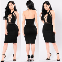 A1705270A New design Sexy Bandage Dress Women Summer Elegant Party Prom Dress For Wholesale