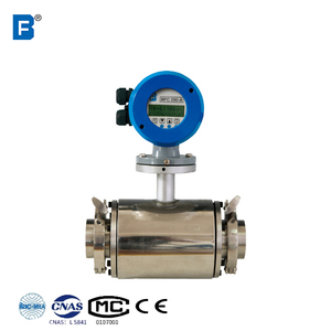 Flange/tri-clamp Reliable and Cheap food grade flow meter flowmeter for oil food drink with transmitter best service low price