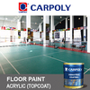 Carpoly Court Acrylic Floor Top-coat, Bear load without deformation or peeling, B6900 Epoxy floor coating