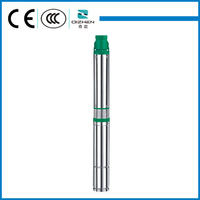 4 inch QJD series clean water deep well submersible electric water pump