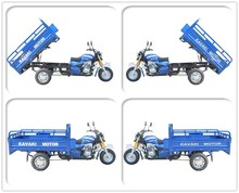 KV-B 1.2m*1.8m 150cc export sudan carriage For Farm Auto Tipper Three Wheel Motorcycle