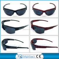 2014 summer wholesale sports sunglasses men cycling riding moto racing sunglasses (BSP1024)