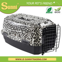 Wholesale plastic folding pet carrier