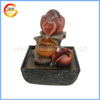 Asian Style Garden Tiered LED Water Pond Indoor Outdoor Fountain