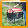 Collapsible soft-sided high-density nylon pet carrying bag