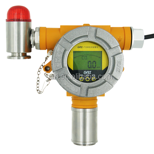 ozone O3 fixed intelligent gas transmitter with LCD display