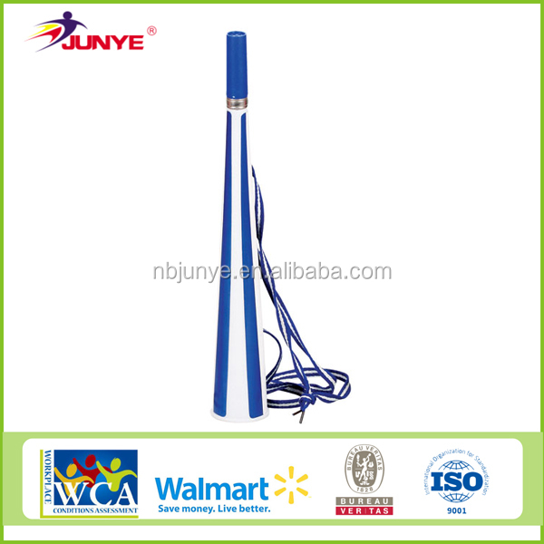 NingBo JunYe hot sale horn cheap plastic vuvuzela