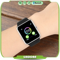 China brand smart watch No.1 gt08 1.44 inch touch screen quad band gsm MTK6261 sim card slot smart Phone watch