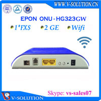 Wireless Networking Equipment GPON 2GE 1 fxs voip gateway with wifi