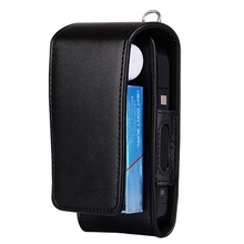 Electronic Cigarette PU Leather Carrying Case Box with Card Holder For IQOS