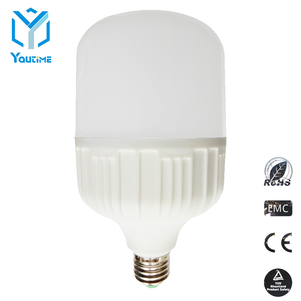 2017 New Products Radar Sensor LED Light Bulb T80 T100 T120 T140 20W 30W 40W 50WLED Birdcage Lamp Lighting Bulb