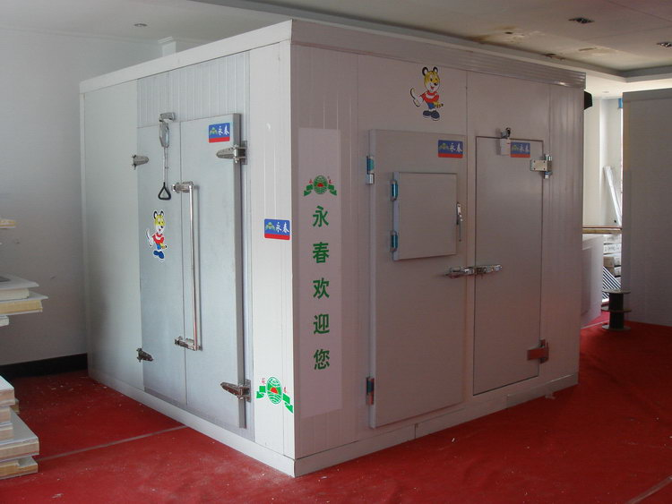Top level hot selling pu panel cold room frozen kebab