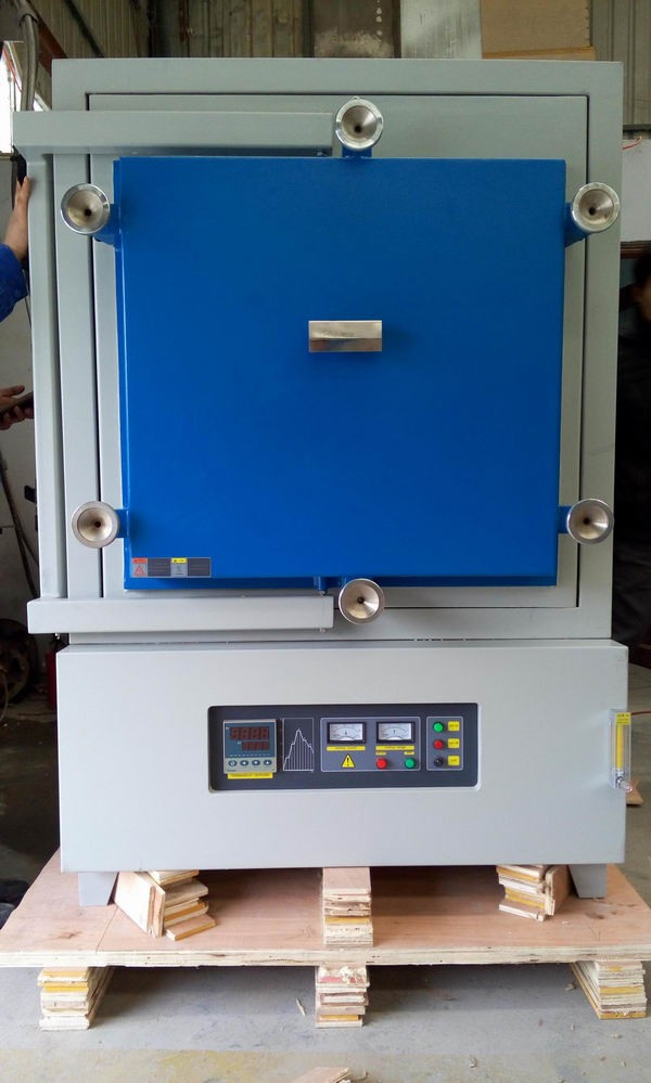 1600C nitrogen atmosphere furnace with vacuum pump