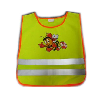 High Visibility Yellow Child Safety Vest for Protecting Children's Safety