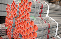 galvanizes plastic combine steel pipe for hotel hot water
