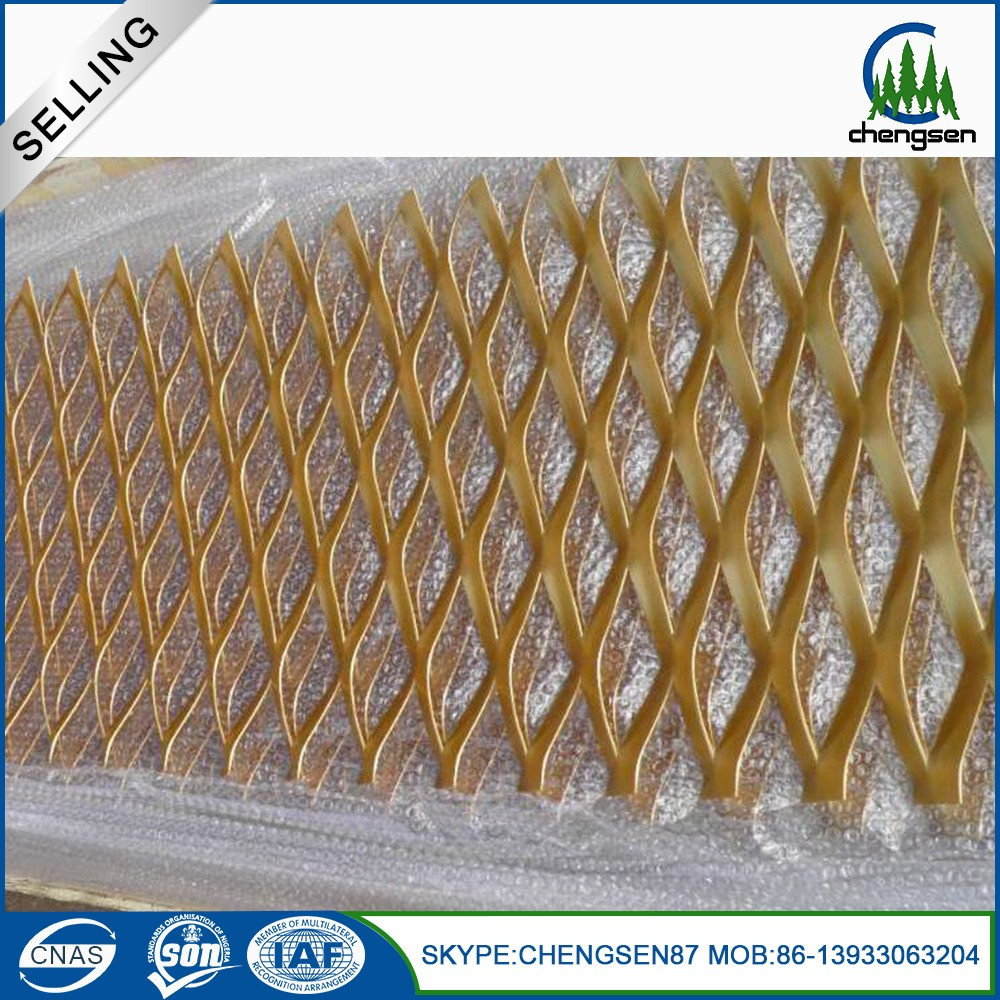 heavy duty expanded steel metal floor grating weight