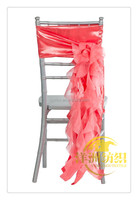 Custom China made wholesale cheap curly willow kids banquet dining chair covers
