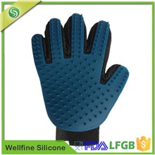 Cleaning Bath Gloves,Silicone Pet Grooming Glove Brush