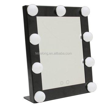 Private Label Cosmetics Makeup Mirror with LED light bath mirror Led Makeup Vanity Mirror with Light Bulbs