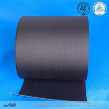2.0mm double black and fabric coating antistatic flat conveyor belt customized power transmission belt for printing industry