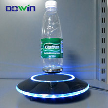 China factory promotion bottle glorifiers display led light suspended in the air base for wine