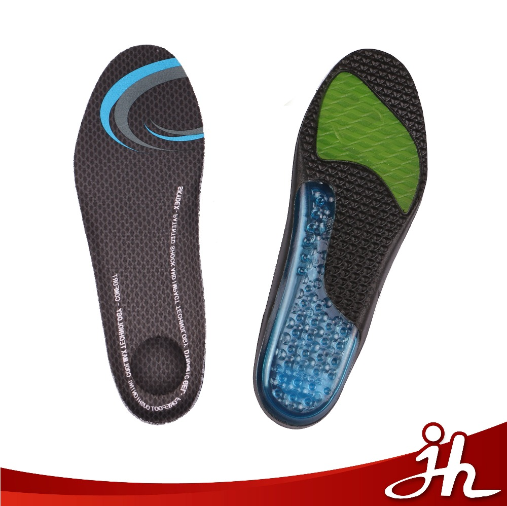 High quality waterproof shock absorption soft you poron insole for running shoes manufacturers