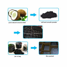 Coconut Teeth Whitening Activated Coconut Charcoal Powder Food Grade