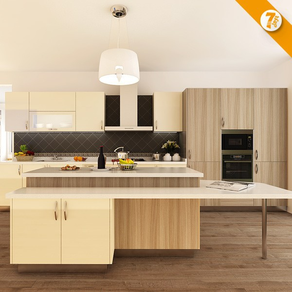 Kitchen Cabinets Quick Delivery 7 days delivery affordable modern laminate sheet kitchen cabinet