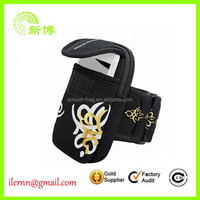 Color printed neoprene Armband Phone Cases