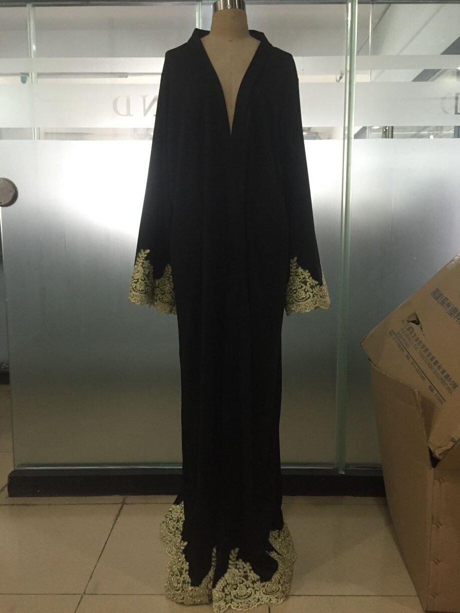 Wholesale Front Open Abaya Fashion Kimono Design and Dubai Muslim Maxi Dress