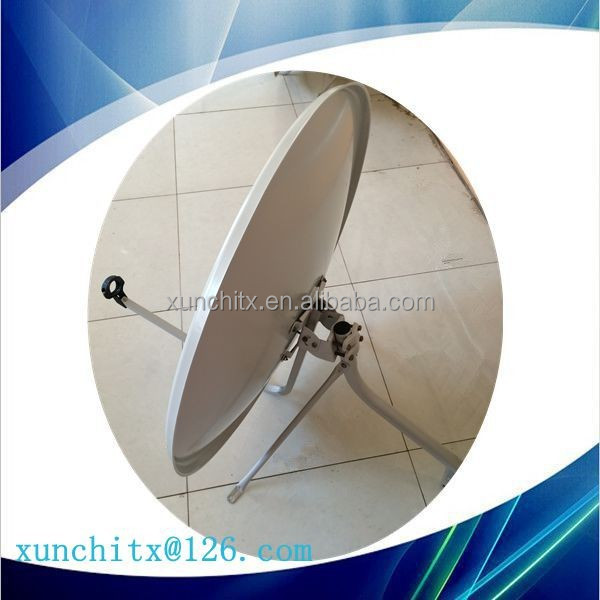 Ku-band 90cm tv dish satellite antenna/ New antena satelital
